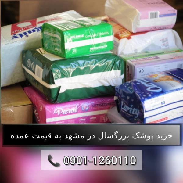 خرید پوشک بزرگسال شورتی و چسبی در مشهد به قیمت عمده