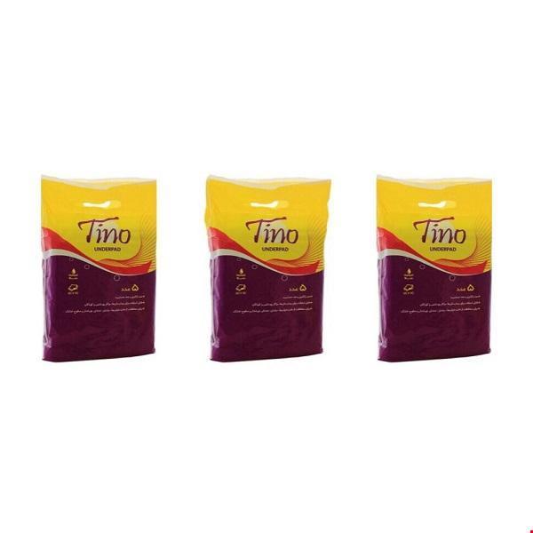 زیرانداز بهداشتی تینو مجموعه 3 عددی